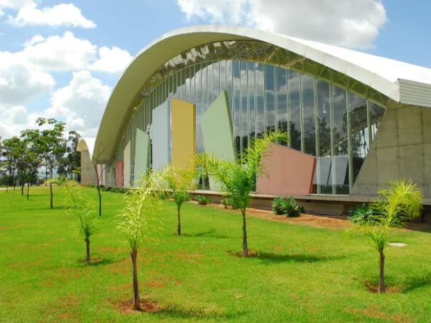 """Biblioteca Municipal """"Jorge Guilherme Senger"""" em Sorocaba (Foto: Ochandio/Prefeitura de Sorocaba)"""