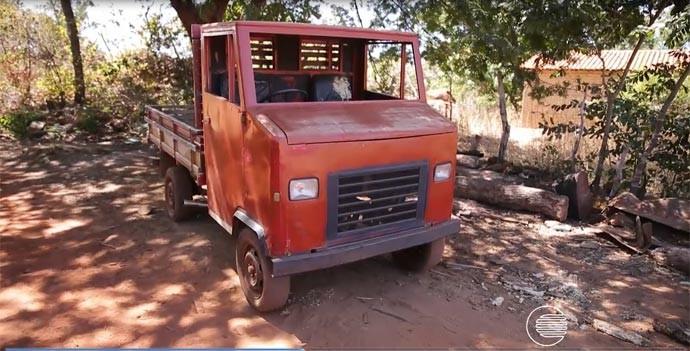 Carro (Foto: Reprodução/Rede Clube)