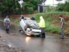 Temporal causa pelo menos seis acidentes no Centro-Oeste Paulista