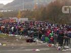 Fronteira entre Eslovênia e Áustria segue como gargalo de refugiados