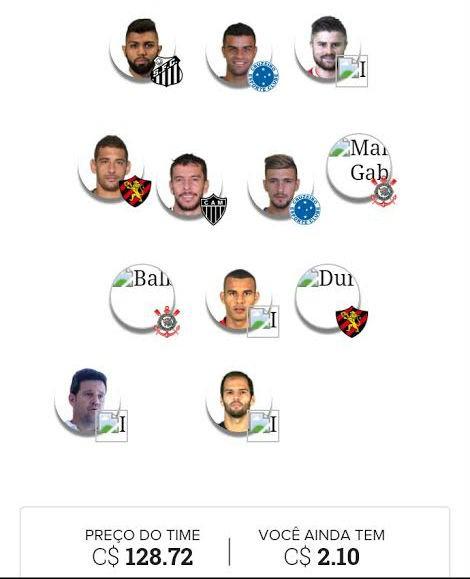 BLOG: Cartola FC: escalei meu time para rodada 11; confira as dicas