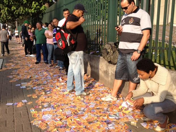 Maior colégio eleitoral do estado deve receber quase 20 mil eleitores neste domingo. (Foto: Nathália Duarte/G1)