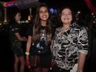 Aos 13 anos, Ana Morais vai ao Rock in Rio com babá