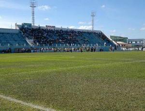 Estádio Sernamby, em São Mateus (Foto: Divulgação/São Mateus)