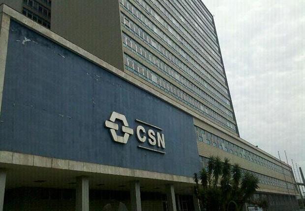 Sede da Companhia Siderúrgica Nacional (CSN) (Foto: Divulgação)