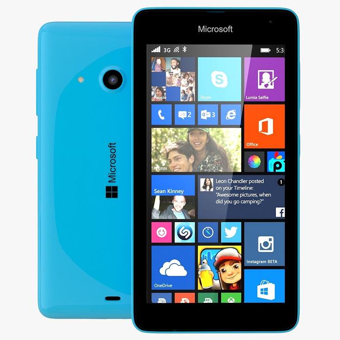 Lumia 535 apresenta uma ótima câmera frontal (Foto: Divulgação/Microsoft)