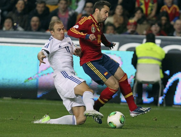 Jordi Alba na seleção da Espanha (Foto: EFE)