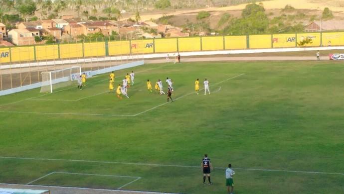 Estanciano e Boca fazem derby de Estância no Francão (Foto: Osmar Rios/GloboEsporte.com)