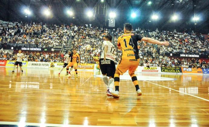 Corinthians x Sorocaba - Final da Liga Paulista de Futsal 2016 (Foto: Danilo Camargo/ Magnus Futsal)
