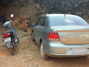 Veículos encontrados estavam com sinais de adulteração (Foto: Divulgação/SSP)