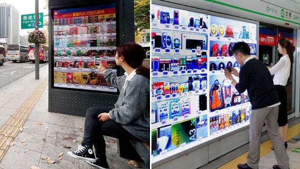 Lojas virtuais foram lançadas na Coreia do Sul em 2011 (Foto: Divulgação)