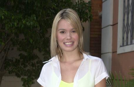 Como Laíla, sua personagem no seriado Sandy & Junior, de 2002 João Miguel Júnior/ TV Globo