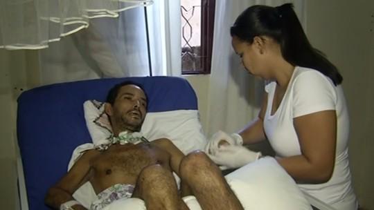 Trabalhador rural sofre com sequelas após picada de marimbondo em Anápolis