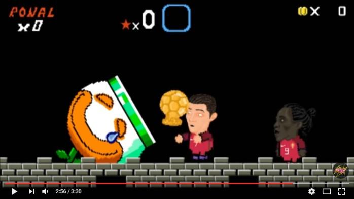 BLOG: Como seria o Super Mario com Cristiano Ronaldo, Messi e Higuaín? Veja a paródia