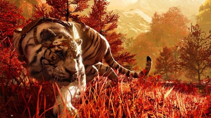 Majestoso tigre aparece em imagens de Far Cry 4 (Foto: The Dark Side of Gaming)