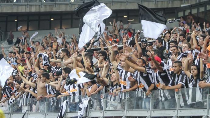 Torcida do Atlético-MG na partida contra o Corinthians (Foto: Flickr \Atlético-MG)