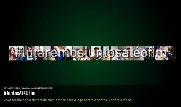 Blog Torcida Coritiba - Juntos até o fim
