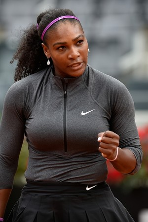 Serena Williams vence Christina McHale em Roma (Foto: Getty Images)