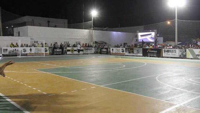 Quadra, Ceará, ginásio (Foto: Christian Alekson / cearasc.com)