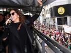 'Deixa de existir o camarote Daniela Mercury', diz assessoria da cantora
