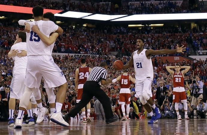 Duke x Wisconsin NCAA - AP (Foto: AP)