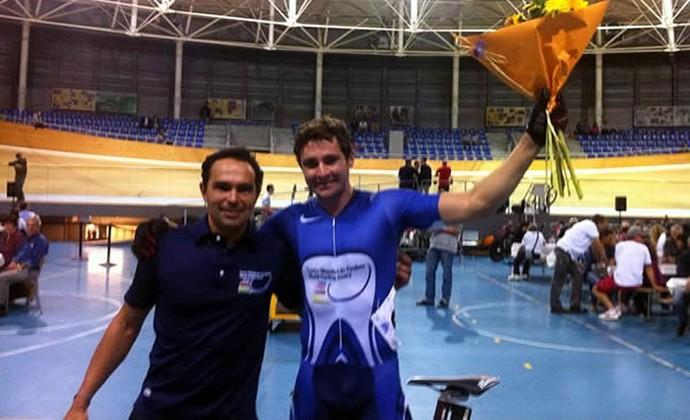 Flávio Cipriano campeão ciclismo (Foto: CBC / Divulgação)