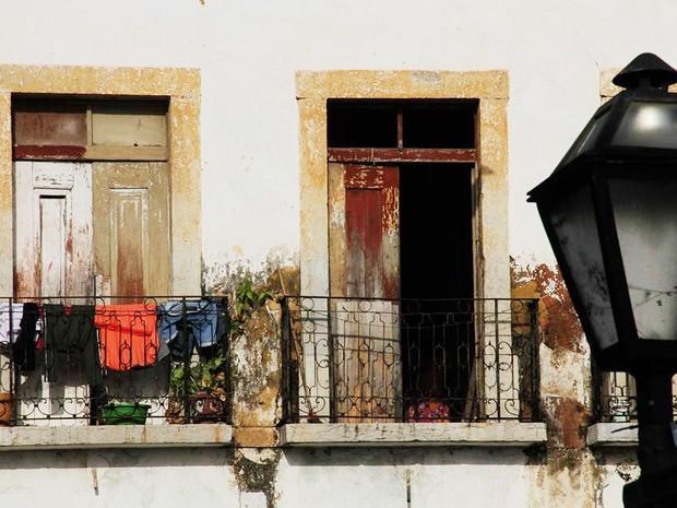 Fachada de casarão, no Centro Histórico de São luís, MA (Foto: Biaman Prado/ O Estado)