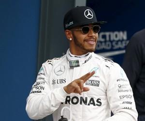 Hamilton GP Austrália Treino (Foto: Reuters)