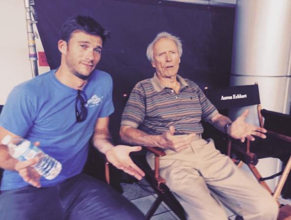 Scott e Clint Eastwood (Foto: Instagram)