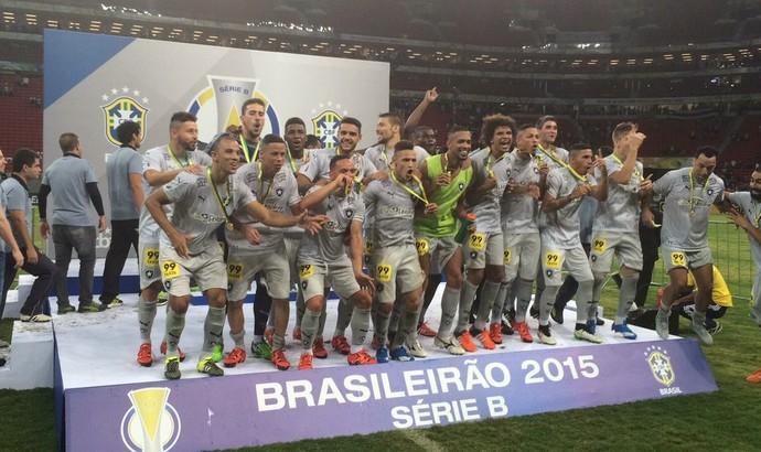 Botafogo - campeão - ABC (Foto: Reprodução/Twitter)