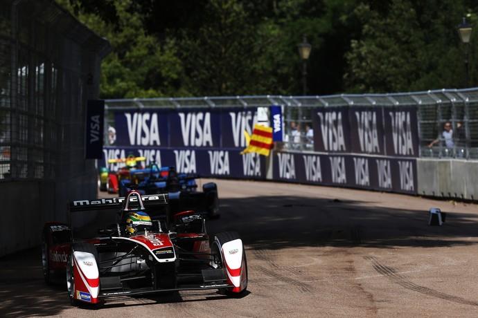 Bruno Senna no ePrix de Londres da Fórmula E (Foto: Divulgação)
