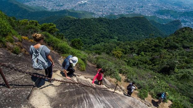 Trilha da Floresta da Tijuca - Parque Nacional da Tijuca, RJ (Foto: Shutterstock)