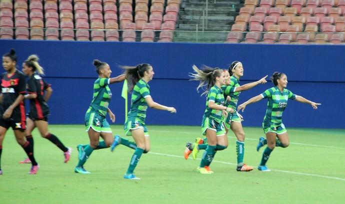 Iranduba vence Sport Brasileiro feminino Manaus (Foto: Patrick Marques)