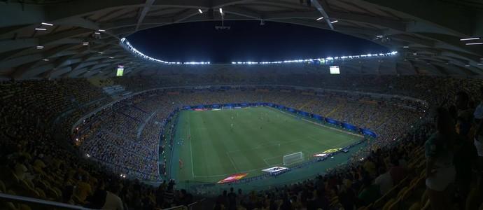Arena da Amazônia Manaus Brasil x Colômbia (Foto: Isabella Pina)