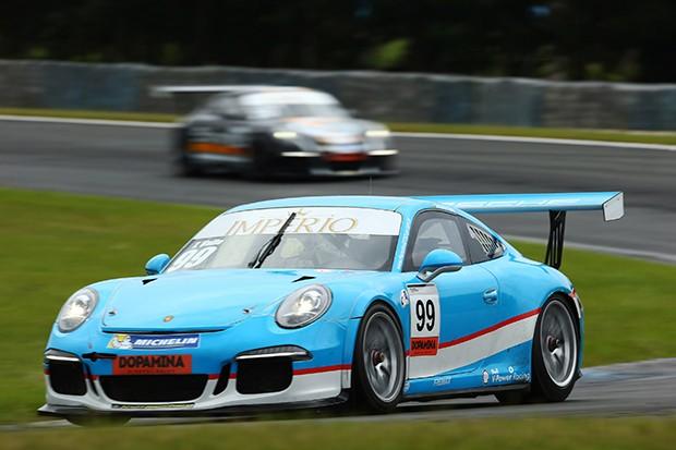 Porsche GT3 Cup, categoria Master do piloto Tom Valle. (Foto: Divulgação/Luca Bassani)