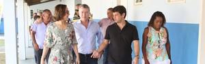 Secretário do Estado visita Araruama (Marcelo Figueiredo/ Prefeitura de Araruama)