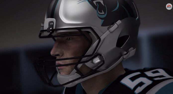 Primeiro vídeo do novo Madden mostra jogador virtual (Foto: Divulgação/EA)