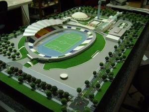 Pronta, Vila Olímpica deve ficar dessa forma (Foto: Thiago Fernandes/Arquivo Pessoal)