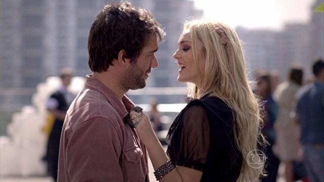 Megan e Davi (Foto: Geração Brasil / TV Globo)