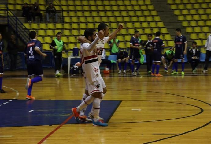 São Paulo AABB Liga Paulista de Futsal (Foto: Yuri Gomes/Divulgação)