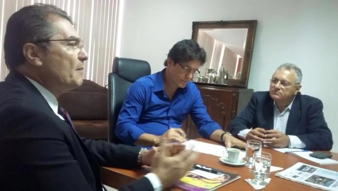 Edgar Hubner, Robinson Faria e George Câmara (Foto: Divulgação)