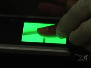 Recadastramento biométrico (Foto: Reprodução/TV Mirante)