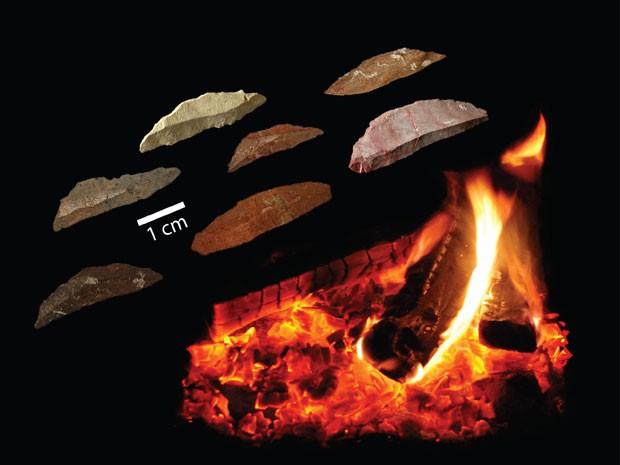 Lâminas eram tratadas com fogo (Foto: Simen Oestmo/Divulgação)