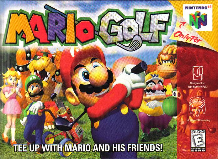 Capa do Mario Golf (Foto: Divulgação/Nintendo)