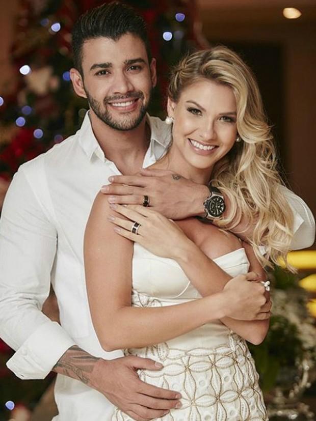 c74b7ea3c8e Gusttavo Lima e Andressa Suita (Foto  João Augusto e Michelle Barzotto    Divulgação)
