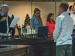 Regivaldo Galvão foi condenado pela morte de Dorothy Stang (Foto: Reprodução/Globo News)