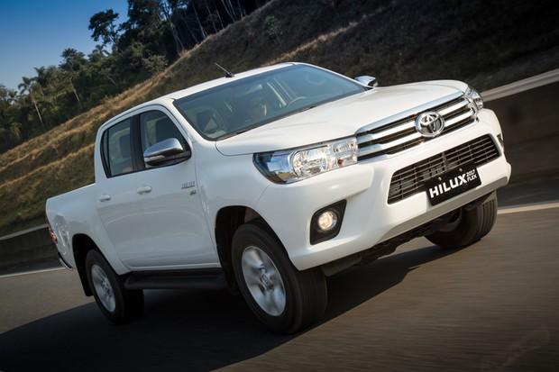 Toyota apresenta Hilux com motor flex no Brasil (Foto: Divulgação)