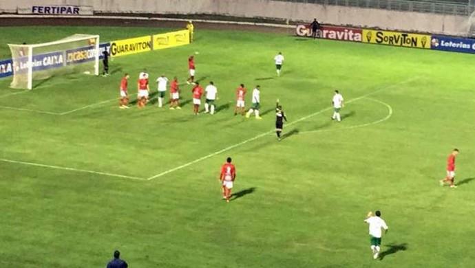 Boa Esporte x Guarani Série C (Foto: Manoela Borges / EPTV)