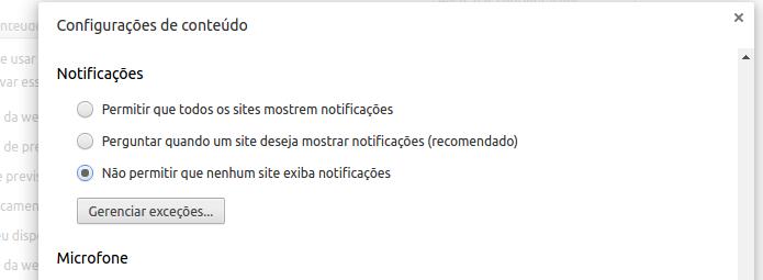 Desativando as notificações do Chrome (Foto: Reprodução/Edivaldo Brito)