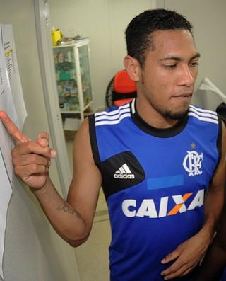Hernane exames Flamengo (Foto: Alexandre Vidal/Fla Imagem)